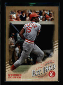 GEORGE-FOSTER-2019-TOPPS-EST-4-EST-1869-GOLD-PARALLEL-50-50-AY7601