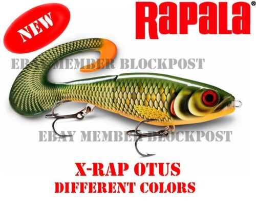 XROU17 Lenght 17 cm Brand new DIFFERENT COLORS Rapala X-Rap Otus Weight 40g