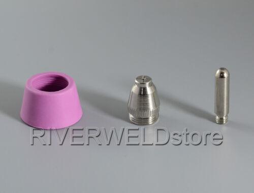 SG55 AG60 Plasma Electrode Tip Nozzle Consumable /& 40//50//60A CUT LGK 50//60 50pcs