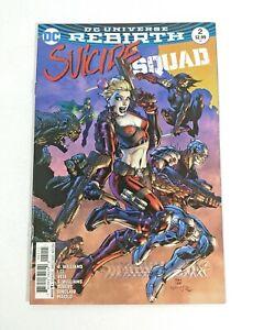 SUICIDE-SQUAD-2-Harley-Quinn-DC-Universe-Rebirth-2016-NM-Jim-Lee-Deadshot