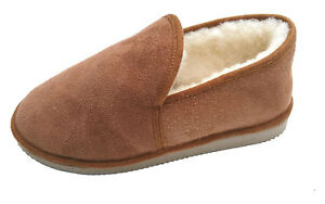 charentaises fourrées - camel - hommes - pantoufles peau de mouton ... c808afa8ae9