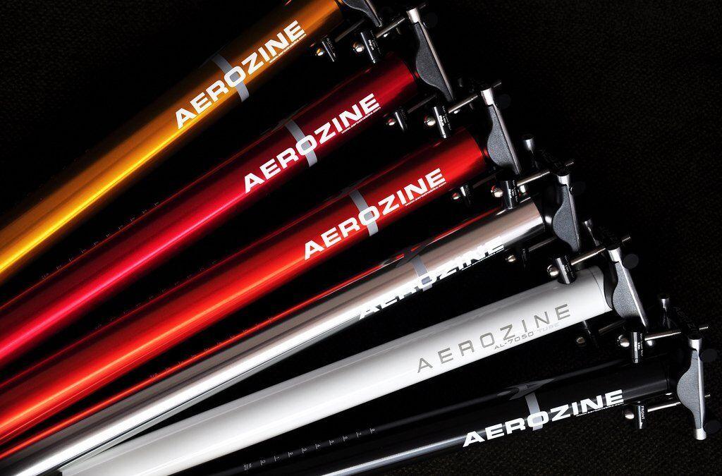 Aerozine aluminium selle avec TITANE boulons