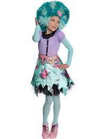 Child Monster High Honey Swamp Outfit Fancy Dress Costume Book Week Girls