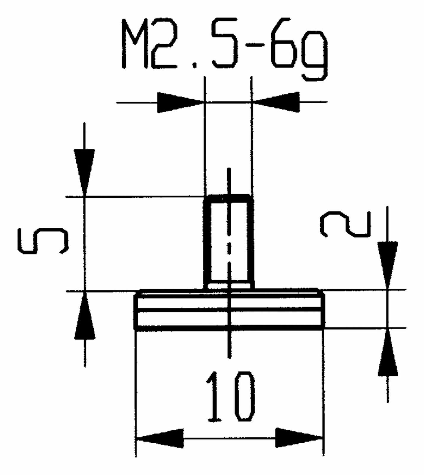 Käfer Messeinsatz HM Abbildung 11   10,0mm - 573 573 573 11H | Schöne Farbe  | Shop  | Maßstab ist der Grundstein, Qualität ist Säulenbalken, Preis ist Leiter  4c512c