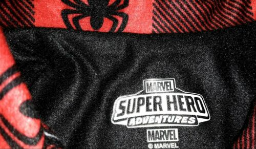 Marvel Spiderman Toddler Boys Pajamas 12M 2T 3T 4T Long Sleeve Red 2 Pc Set NWT