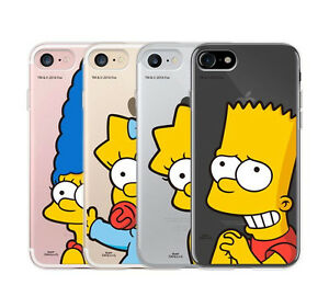 online retailer d3dd7 41d7e Details about THE SIMPSONS Cute Soft TPU Jelly Case Cover Profector for  iPhone 7 7PLUS