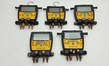 Fieldpiece Sman460 Wirelss 4 Port Hvacr Manifold Micron Gauge Parts Lot 5