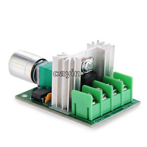 6A 6V-12V DC Motor Speed Control Pulse Width Modulation PWM Controller Switch UK 6913742416883