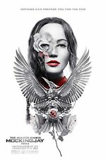 """Hunger Games Mockingjay Part 2 ORIGINAL S/S 13""""x19"""" IMAX Movie Poster Lawrence"""