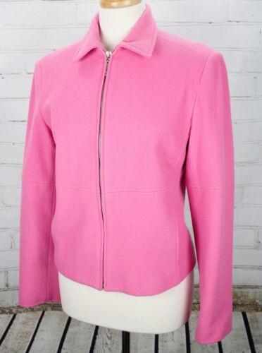 MAINBOCHER Cashmere Wool Blend Moto Jacket Full Zi