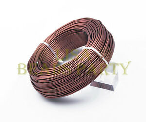 1Roll-95meters-15Gauge-1-5mm-Aluminum-Wrap-Craft-Wire-Jewelry-Making-Deep-Coffee