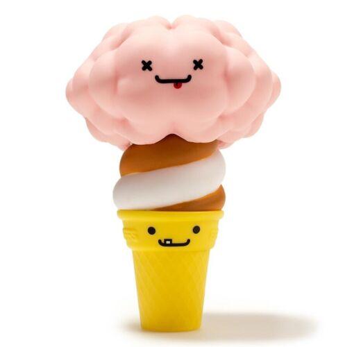 "Kidrobot BFFs Series 4 SOFTEE /& THE BRAIN 3/"" Mini Vinyl Figure Ice Cream Cone"