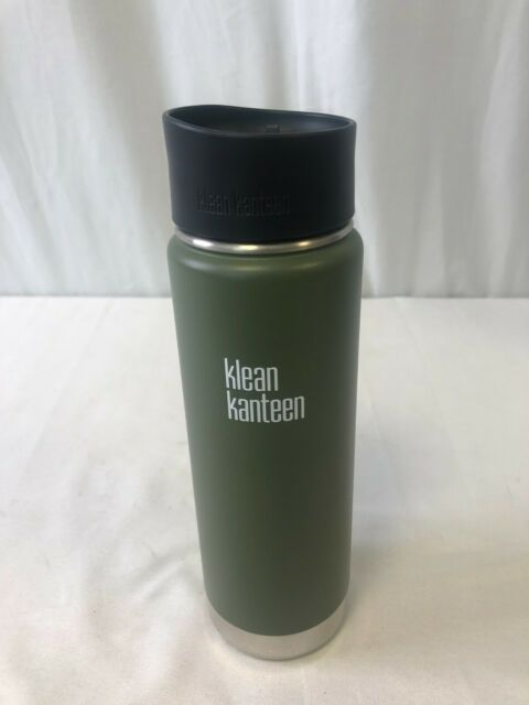 Klean Kanteen Wide Vacuum Insulated W/ Cafe Cap 2.0 Vineyard Green 20oz