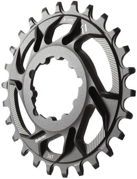 SRAM  X-Sync 1x Direct Mount Mountain Bike MTB Chainring 6mm Offset - 26t