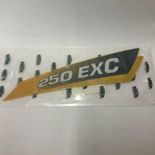 KTM 250 EXC 1999 Displacement Sticker Decal Original O.E.M