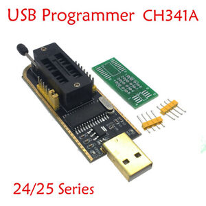 UK-25-SPI-Serie-24-EEPROM-CH341A-BIOS-Writer-Routing-LCD-Flash-USB-Programmer