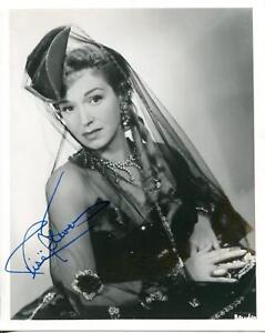 Details about Rise Stevens Autograph Opera Mezzo Soprano Singer & Actress  Signed Photo
