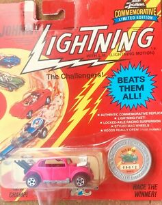 Vintage Johnny Lightning The Challengers Bug Bomb Seattle Toy Show 1995 New!