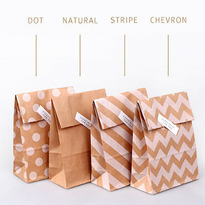 100 x kraft bag paper paper bag kraft bag gift gift bag wholesale party favors