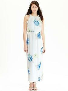 ddb8eec4336 NWOT Old Navy Women's Floral Chiffon Maxi Dress,BLUE FLORAL SZ 1X | eBay