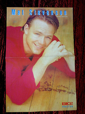 Mat Stevenson Home And Away Pull Out Magazine Centre Pages Picture Pin Up Ebay