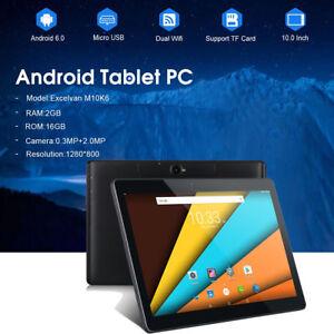 Excelvan-M10K6-10-1-Tablet-PC-1280-800-Android-6-0-2-16GB-Dual-Camera-WIFI-SIM