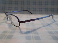 Emporio Armani EA 9116 Silver Round Oval Eyeglasses Eyeglass Sunglasses Frame