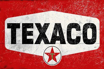 VINTAGE SIGN GREAT FOR WORK-SHOP MAN-CAVE ETC BAR TEXACO SIGN