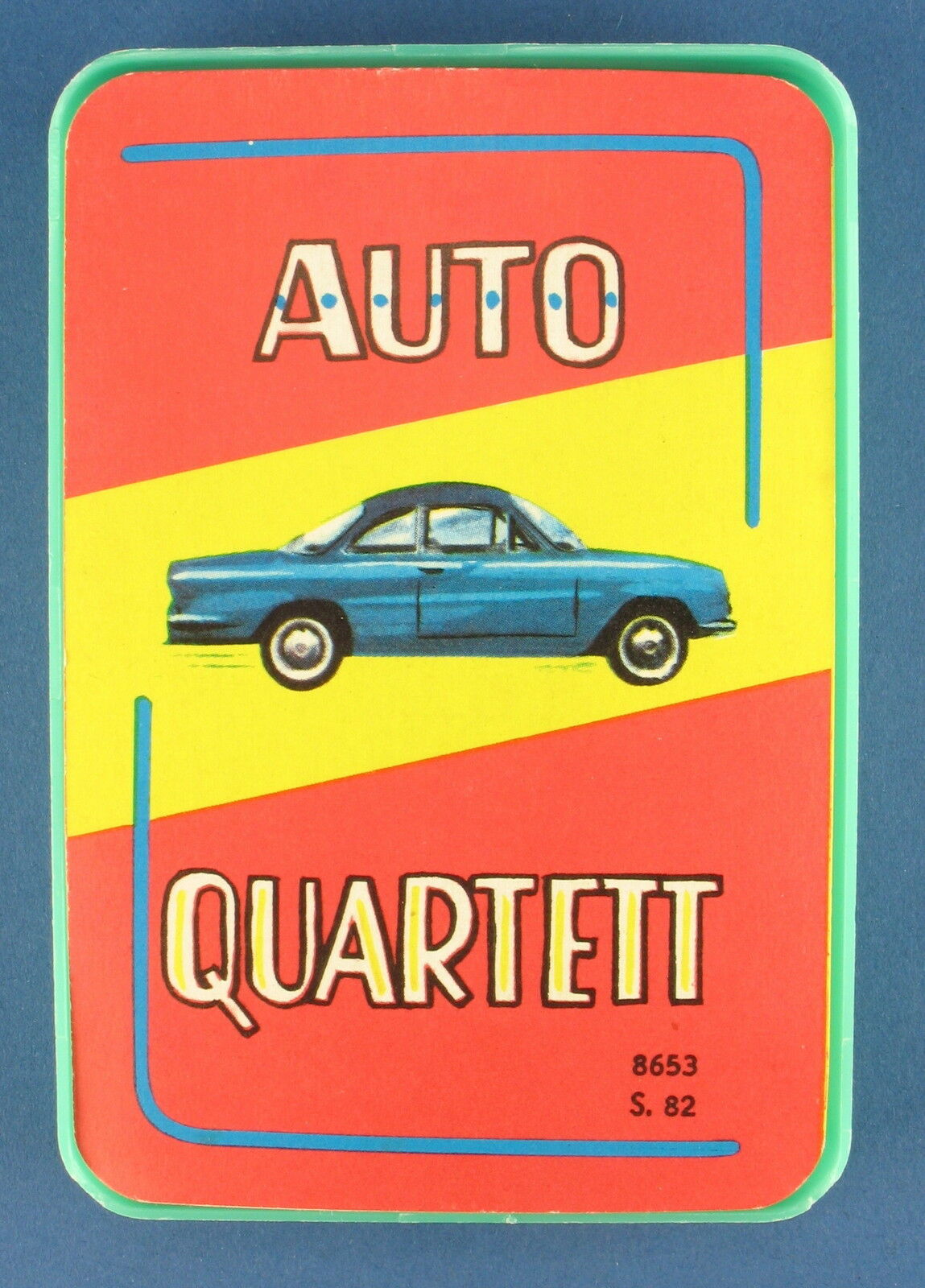 AUTO-Quartetto-s&s - N. 8653 pag. 82-di 1966-Gioco di Carte-gioco quartetto