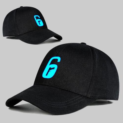 Hot Game Rainbow Six Logo Hat Baseball Cap Casual High Quality