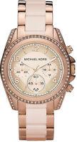 Michael Kors MK5943 Ladies Blair Chronograph Rose Gold Stainless Steel Watch