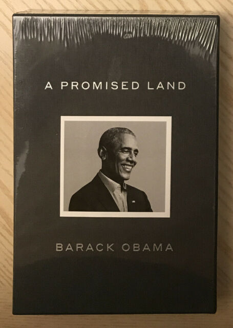 """Barack Obama Signed """"A Promised Land"""" Deluxe Edition Autographed Clothbound Book"""