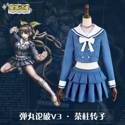 Danganronpa V3 tuant Harmony chabashira Tenko école cosplay costume uniforme