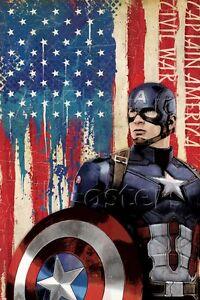 Marvel Captain America: Civil War Poster - 24x36