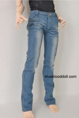 1//3 BJD 70cm EID Hero Soom ID male doll clothes outfit light blue wash jeans