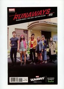 1 in 15 Television Photo variant cover! RUNAWAYS #1 Grade NM