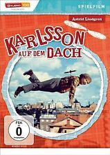 Astrid Lindgren KARLSSON AUF DEM DACH Spielfilm KARLSON VOM ..Lillebror  DVD Neu
