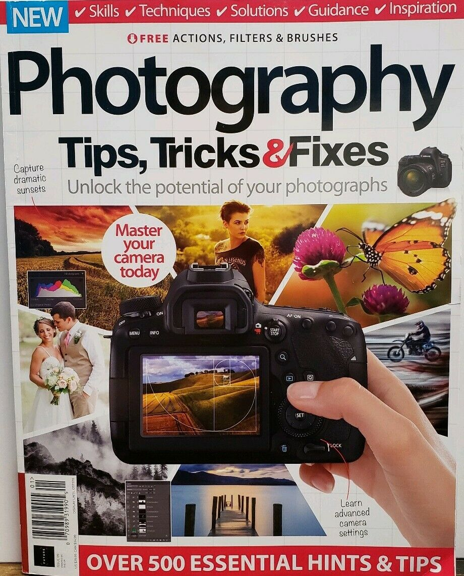 Photography Tips Tricks & Fixes Issue 9 Master Your Camera FREE SHIPPING CB 10