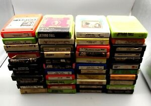 8-Track-Tapes-Classic-Rock-Lot-of-44-Jethro-Tull-Bob-Dylan-Vtg-Bread-Journey