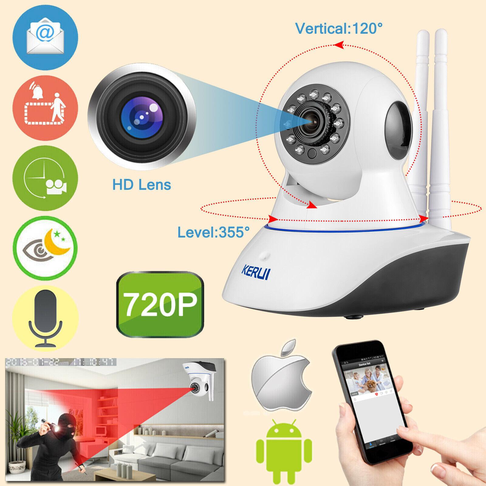 KERUI N62 WIFI IP Camera Wireless Smart Security Alarm System Motion PIR Sensor