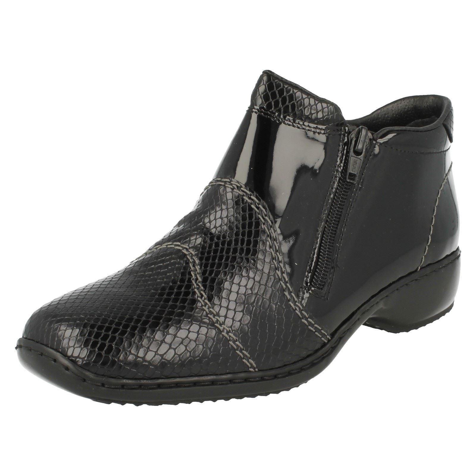 Man's/Woman's Rieker Ladies Ankle Boots L3892-01 service cheapest fine