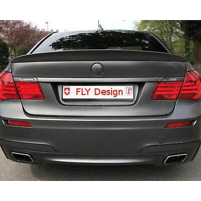 BMW F01 tuning Tuning Bodykit Hinten Heck Spoiler Flügel Kofferraumklappe Abriss