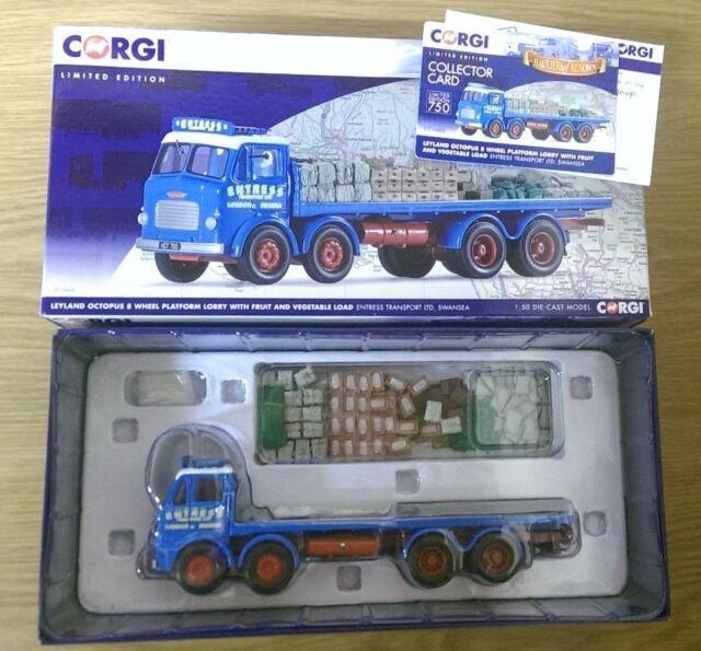 Corgi CC10605 Leyland Octopus 8 Wheel Truck & Load Ltd Edition 001 of ONLY 750
