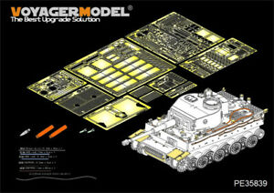 Voyager-Models-1-35-Tiger-I-Gruppe-Fehrmann-Detail-Set-for-Rye-Field-Model-5005