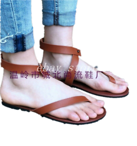 New-Women-Gladiator-Thongs-Shoes-Strappy-Roman-Beach-Sandals-Flats-Shoe-Summer-B