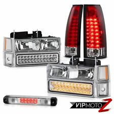 94-98 Chevy Silverado Roof Cab Lamp Tail Brake Lights Headlamps Signal Parking