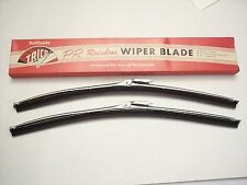 MUSTANG 1967 1968 wiper blades TRICO NOS satin stainless with NOS inserts SHELBY