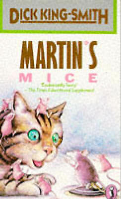 """""""AS NEW"""" Martin's Mice (Puffin Books), King-Smith, Dick, Book"""
