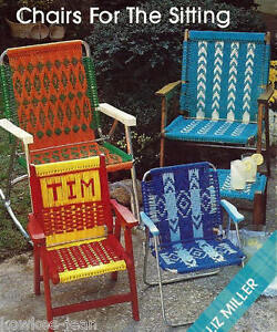 macrame lawn chair patterns macrame lawn chair patterns geometrics child 9820