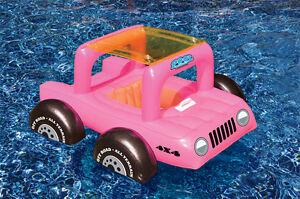 Pool Buggy Toddler Seat Float Kid Jeep Vinyl Suv Atv Swim